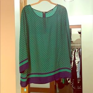 Green Blouse sz XL from Rose & Olive